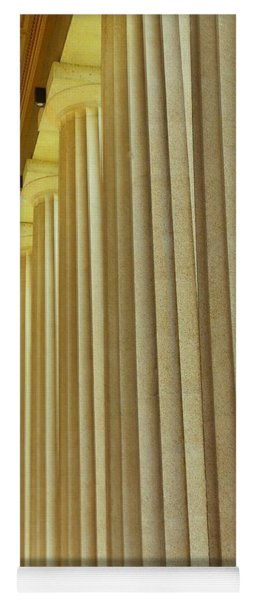 The Columns At The Parthenon In Nashville Tennessee Yoga Mat