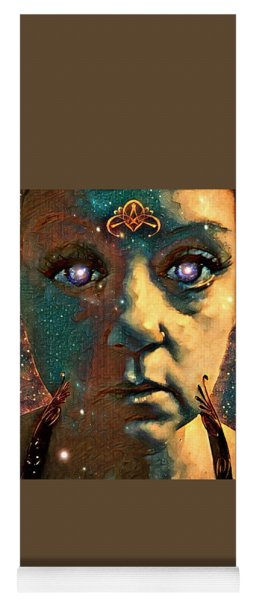 The Consciousness Of Being Human A Self Portrait Yoga Mat