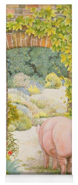 The Convent Garden Pig Yoga Mat