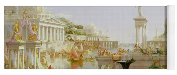 The Course Of Empire - The Consummation Of The Empire Yoga Mat