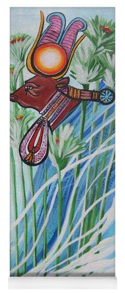 Blaa Kattproduksjoner           The Cow Goddess - Hathor Yoga Mat