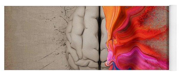 The Creative Brain Yoga Mat