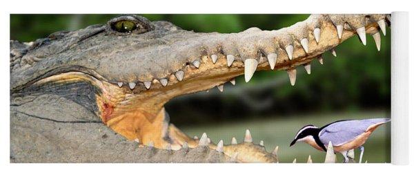 The Crocodile Bird Yoga Mat