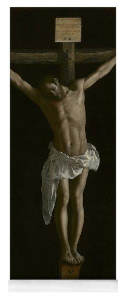 The Crucifixion Yoga Mat
