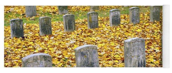 The Dead At Antietam Yoga Mat