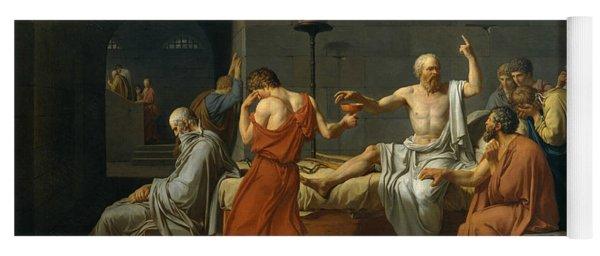 The Death Of Socrates, 1787 Yoga Mat