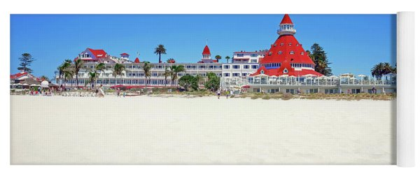The Del Coronado Hotel San Diego California Yoga Mat