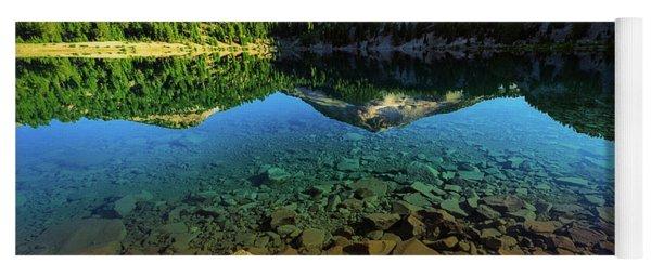 The Depths Of Lake Helen Yoga Mat