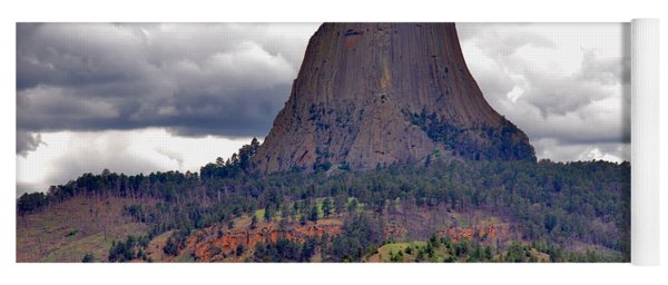The Devils Tower Wy Yoga Mat