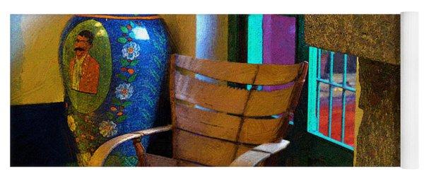 The Dining Room Corner In Frida Kahlo's House Yoga Mat