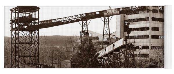 The Dorrance Coal Breaker Wilkes Barre Pennsylvania 1983 Yoga Mat