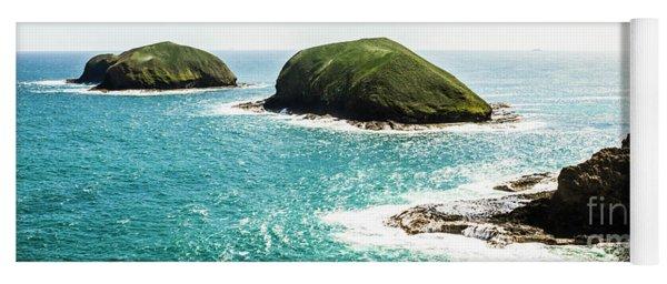 The Doughboys Island Landscape Yoga Mat