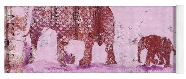 The Elephant March Yoga Mat