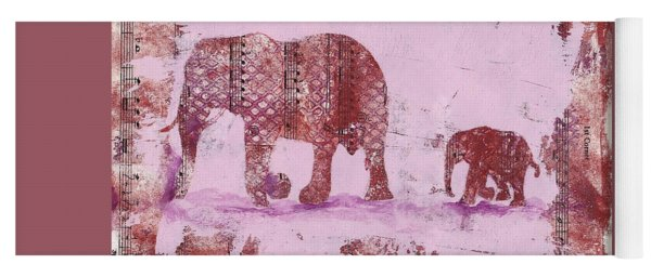 The Elephant March Yoga Mat