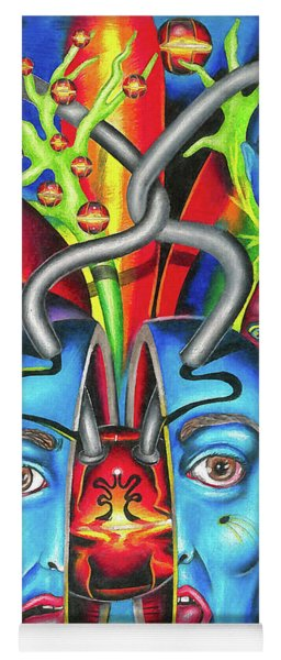 The Esoteric Force Of Molecular Mentality Yoga Mat