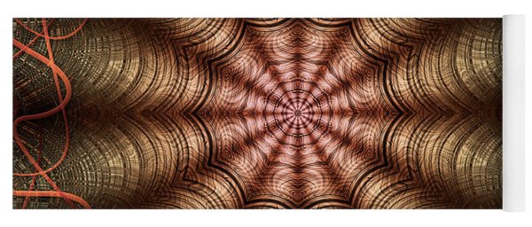 The Fabric Of The Space-time Continuum Yoga Mat