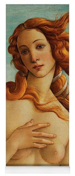 The Face Of Venus Yoga Mat