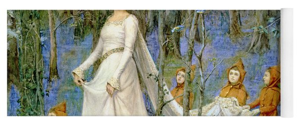 The Fairy Wood Yoga Mat