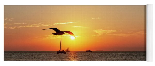 The Famous Key West Sunset  Yoga Mat