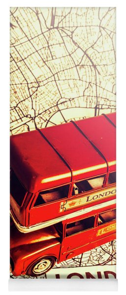 The Famous Red Bus Yoga Mat