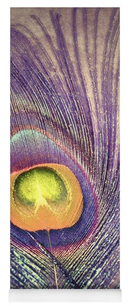 The Feather In Colour Yoga Mat