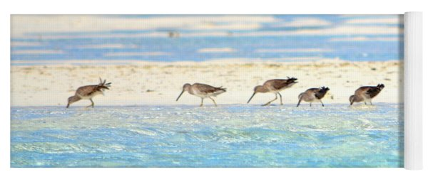 The Five Sandpipers Yoga Mat