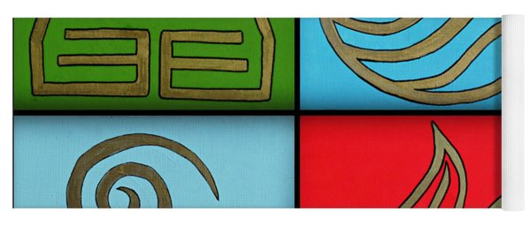 The Four Elements Yoga Mat