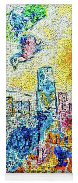 The Four Seasons Chicago Portrait Yoga Mat