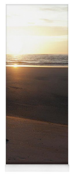 Yoga Mat featuring the photograph The Full Sun by Eric Christopher Jackson