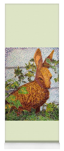 The Garden Hare Yoga Mat