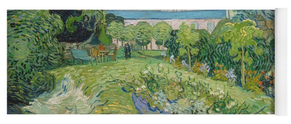 The Garden Of Daubigny Yoga Mat