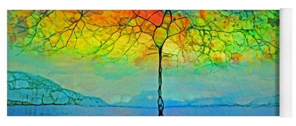 The Glow Tree Yoga Mat