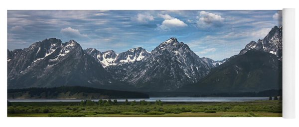 The Grand Tetons Yoga Mat