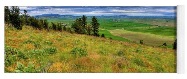 The Grasses Of Kamiak Butte Yoga Mat