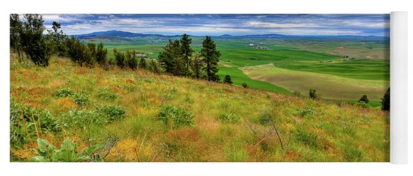 The Grasses Of Kamiak Butte Yoga Mat