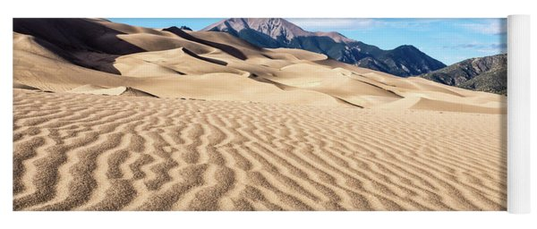 The Great Sand Dunes Of Colorado Yoga Mat