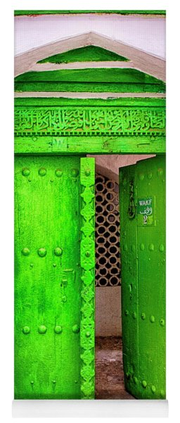 The Green Door Yoga Mat