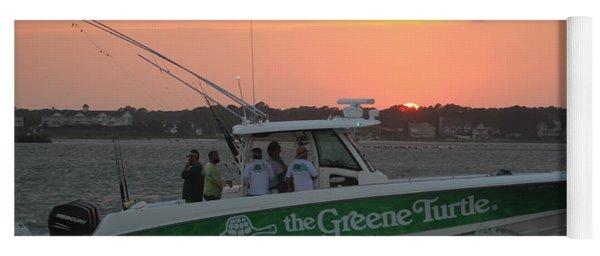 The Greene Turtle Power Boat Yoga Mat