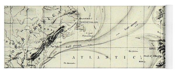 The Gulf Stream Of The Atlantic Ocean Yoga Mat