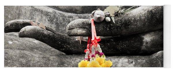 The Hand Of Buddha Yoga Mat