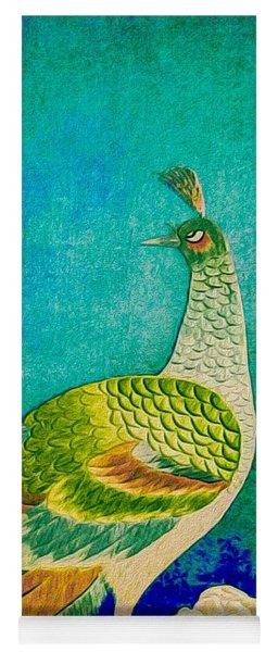 The Handsome Peacock - Kimono Series Yoga Mat