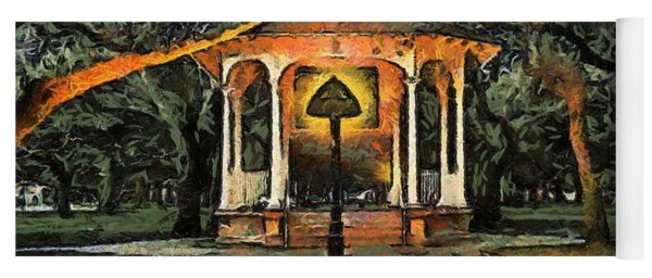 The Haunted Gazebo Yoga Mat