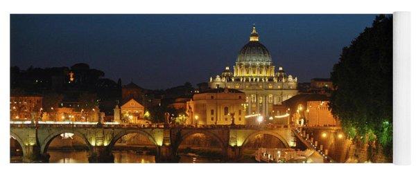 Eternal Sound Of Rome Yoga Mat