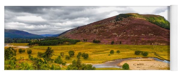 The Heather At Royal Deeside Yoga Mat
