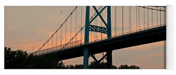 The High Level Aka Anthony Wayne Bridge I Yoga Mat