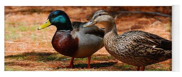 The Honeymooners - Mallard Ducks  Yoga Mat