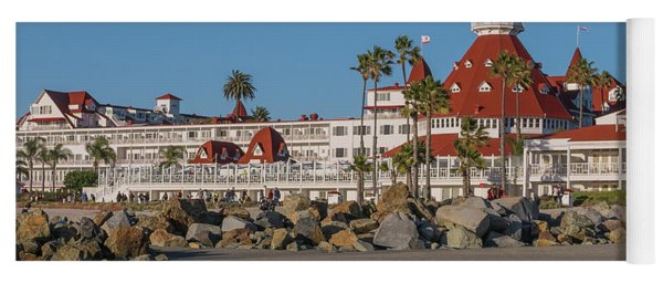 The Hotel Del Coronado Yoga Mat
