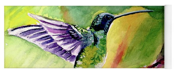 The Hummingbird Yoga Mat