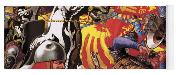 The Hundred Years War  The Struggle For A Crown Yoga Mat