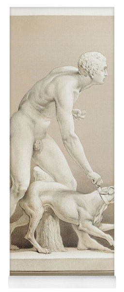 The Hunter A Statue In Marble By John Gibson From The Industrial Arts Of The Nineteenth Century Yoga Mat